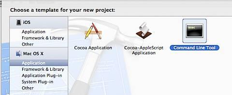 Xcode Command Line Tool
