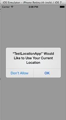 Current Location Simulator Xcode 6