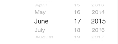 Date Picker Mode set to Date