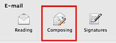 Composing Preferences in Outlook 2011