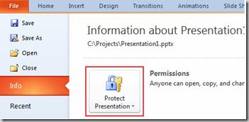 Protect Presentation