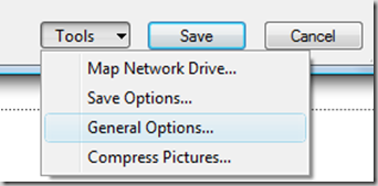 PowerPoint 2010 General Options