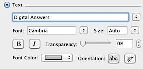 Text Watermark Word 2011 Mac