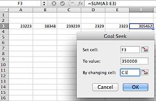 Goal Seek To Value