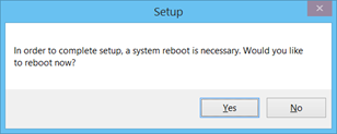Reboot Windows 8