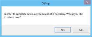 Reboot Windows 8