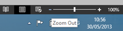 Zoom Out Option Word 2013 and Word 2010
