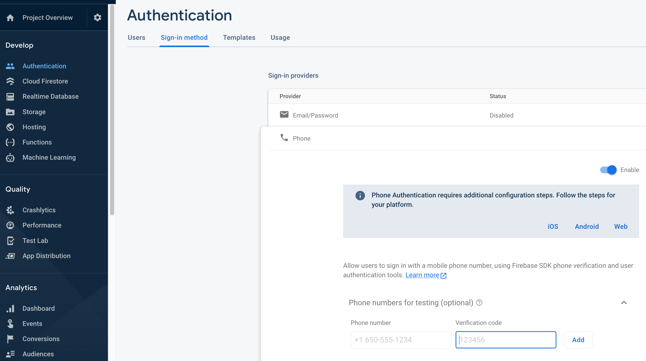 PhoneAuthentication