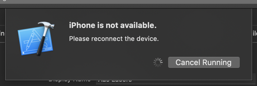 iPhone is not available